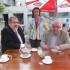 Слева направо: Рефат Чубаров, Гульнара Бекирова, Владимир Буковский
