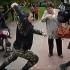 Кадр видео разгона митинга в Нижнем Новгороде, размещенного пользователем EvrydikaBessmertnaya на канале Youtube.com
