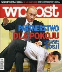 Partnerstwo dla pokoju - Putin - Sarkozy