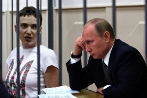 Nadiya-Savchenko-i-Volodimir-Putin.-Kolazh-Novinarnya