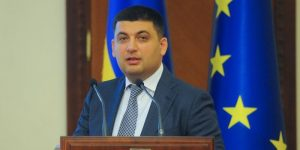 Vice Prime Minister / Regional Development, Construction, Housing and Utility Economy Minister Volodymyr Hroisman.